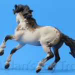 Breyer Custom Nokota by Kate Schick