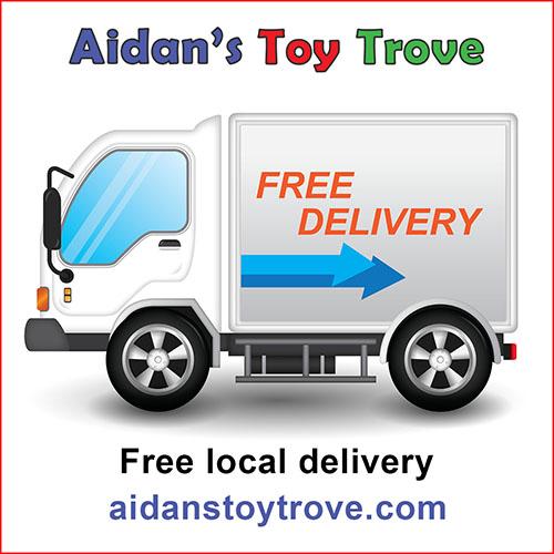 Aidan's Toy Trove Free Local Delivery