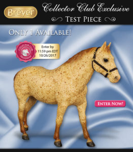 Breyer Test Color Quarter Horse Gelding Red Roan