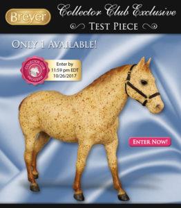 Breyer Test Color Quarter Horse Gelding Red Roan