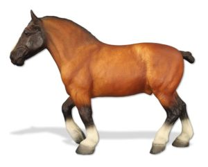 Breyer Test Bay Roan Roy