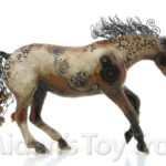Peter Stone + Breyer Custom Steampunk Horse by Elayne Watrus