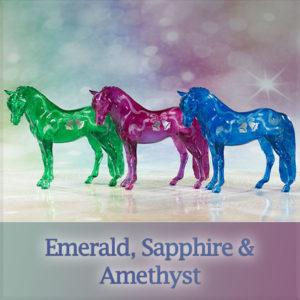 Breyer Emerald Sapphire Amethyst 712233