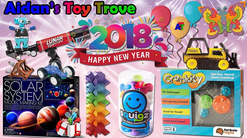 Aidan's Toy Trove Happy New Year