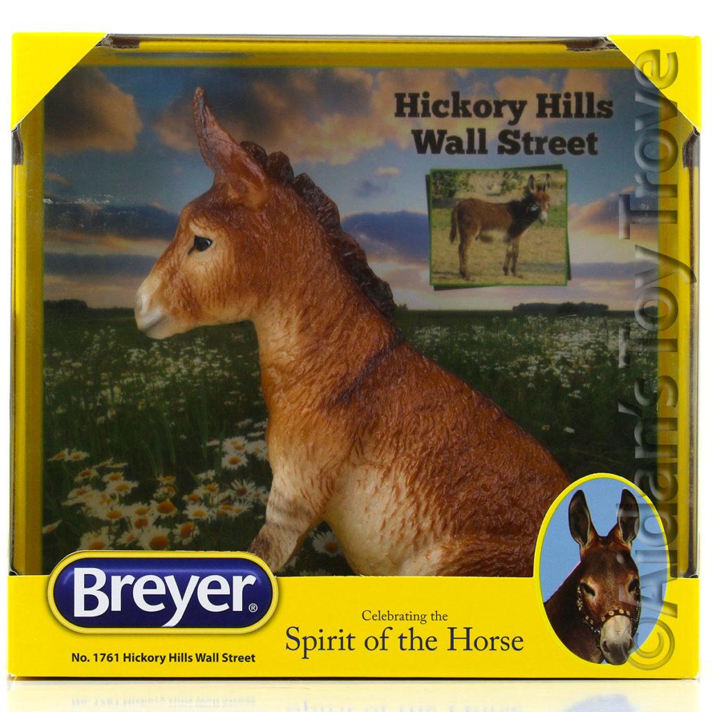Breyer Glossy Hickory Hills Wall Street 1761