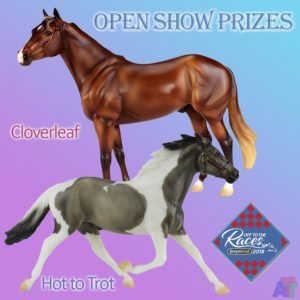 Breyer Cloverleaf and Hot to Trot