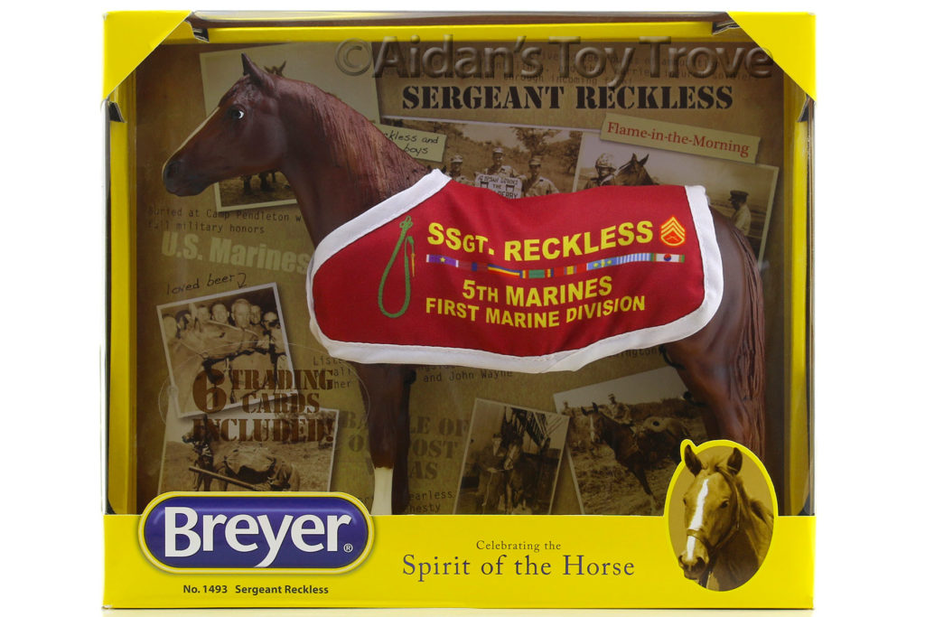 Breyer Sergeant Reckless 1493