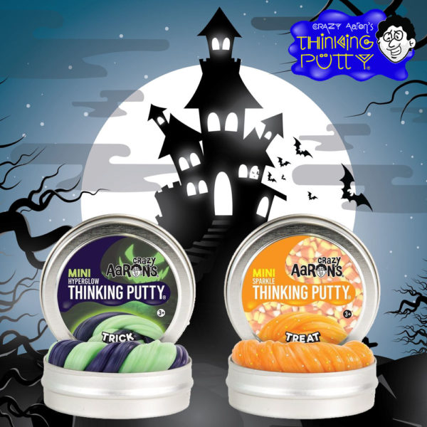 Crazy Aaron's Thinking Putty Halloween
