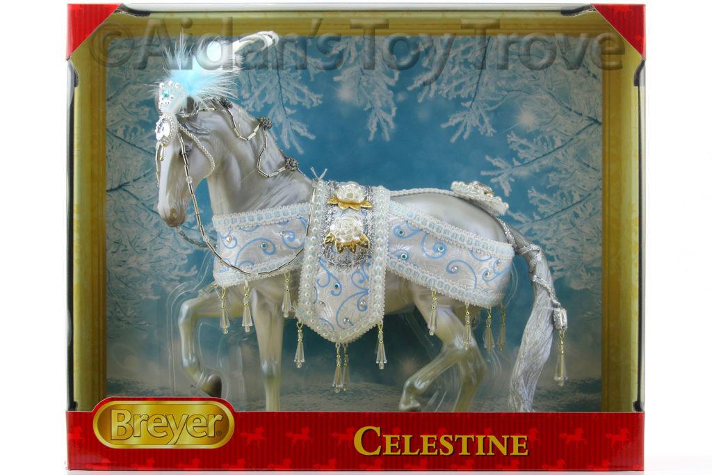 700121 Breyer Traditional 2018 Christmas Horse Celestine