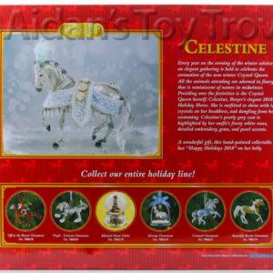 Breyer Celestine 700121 2018 Holiday Horse