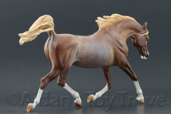 Breyer Custom Weathergirl by Lauren Hoeffer