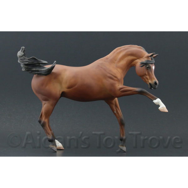 Breyer Custoom Ashquar by Lauren Hoeffer